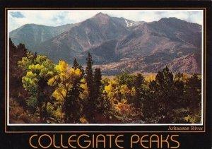 Collegiate Peaks Arkansas River Rocky Mountain National Park Colorado