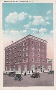 North Carolina Reidsville Belvedere Hotel 1925