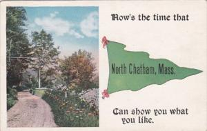Massachusetts North Chatham How's The Time 1912 Pennant Series
