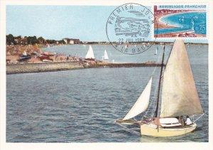 FRANCE, PU-1967; Premier Jour, La Baule, Le Port
