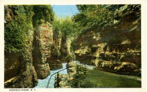 NY - Ausable Chasm. Mystic Gorge