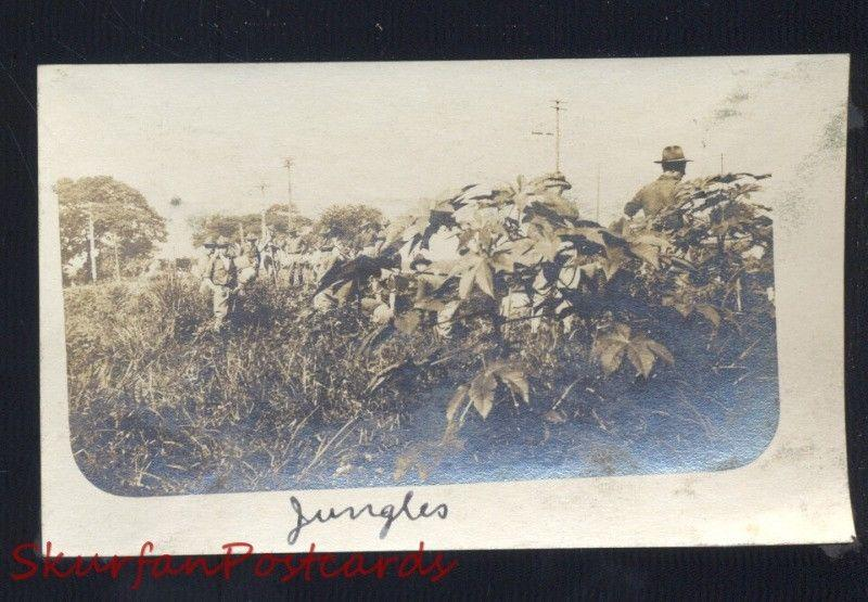 PHILIPPINES PHILIPPINE ISLANDS JUNGLE JUNGLES VINTAGE REAL PHOTO PHOTOGRAPH