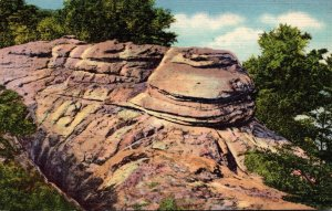 Tennessee Chattanooga Lookout Mountain Glazier Rock Rock City Gardens 1936