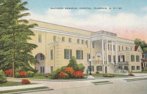 FLORENCE , South Carolina , 30-40s ; Saunders Memorial Hospital