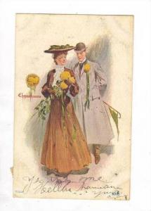Chrysanthemums, Romance couple, PU-1907