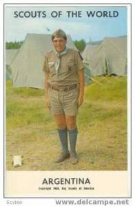 Boy Scouts of the World, ARGENTINA, 1968