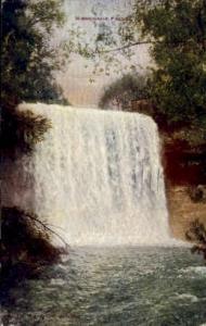 Minnehaha Falls Minneapolis MN 1912