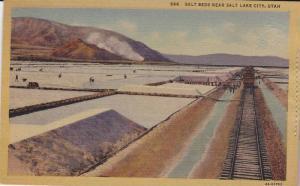 Salt Beds near Salt Lake CIty,  Utah,  30-40s