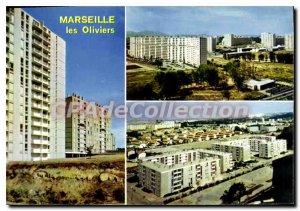 Modern Postcard Marseille Cite Les Oliviers
