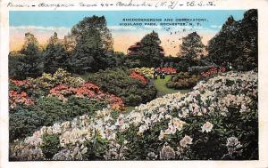 USA Rhododendroms and Observatory Highland Park Rochester