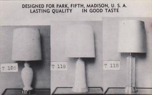 New York City Roth Lamp and Shade Company Dexter Press
