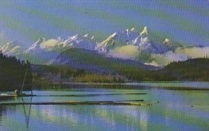 Canada Pinder Peak Nimpkish Lake British Columbia