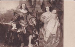 Sir Anthony Van Dijck Charles I & Henrietta Maria With Their Children 1934 De...
