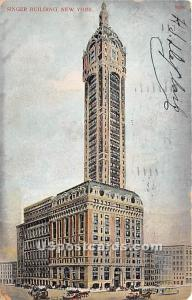 Singer Building New York City NY 1907