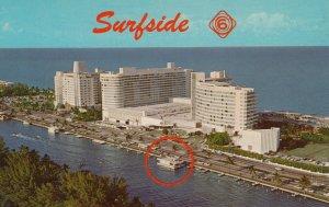 MIAMI BEACH , Florida , 50-60s ; TV show SURFSIDE SIX Home