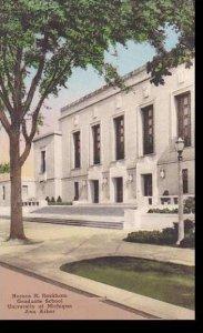 Michigan Ann Arbor Horace H. Rackham Grasuate School University Of Michigan  ...