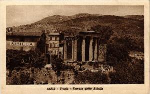 CPA TIVOLI Tempio della Sibilla ITALY (545924)