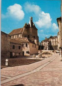 BF14593 bergerac place pellissiere et l eglise saint jac france front/back image