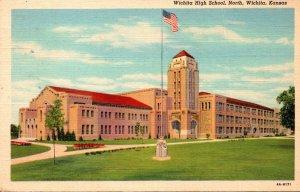 Kansas Wichita North High School Curteich