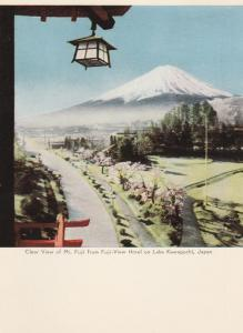 Mount Fuji, Japan - Fuji-View Hotel on Lake Kawaguchi - pm 1966