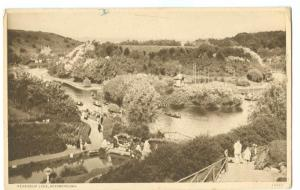 UK, Peasholm Lake, Scarborough, early 1900s unused Postcard