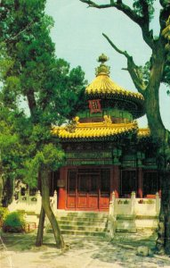China Wan Chun Ting Imperial Garden Beijing Peking Vintage Postcard BS.08