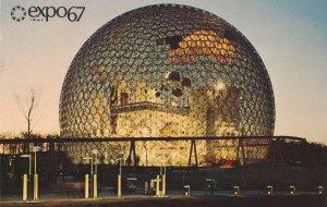 Expo67 - Montreal QC, Quebec, Canada - World Fair 1967 - U.S. Skybreak Bubble
