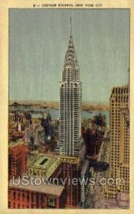 Chrysler Bldg New York City NY Unused