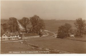 RP: WINCHELSEA , Sussex , England ,1910-30s ; Marshes from Strand Gate