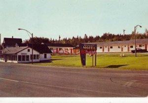 1967 MOONLIGHT MOTEL & RESTAURANT Mr & Mrs Walter Rae DUMFRIES, N B CANADA