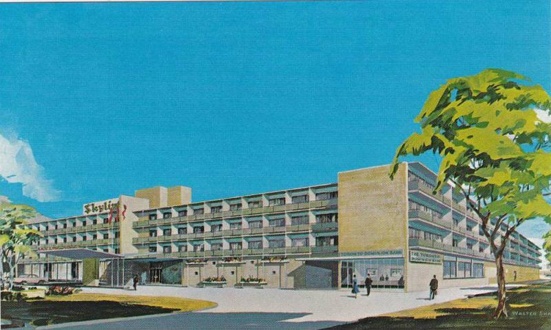 AS: Walter Shaw, Skyline Hotel, Toronto, Ontario, Canada, 40-60´s