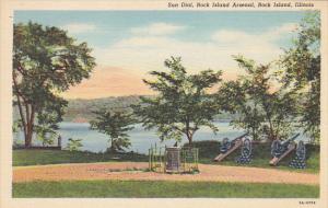 Sun Dial Rock Island Arsenal Rock Island Illinois