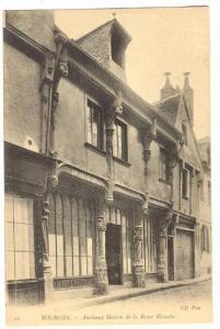 Ancienne Maison De La Reine Blanche, Bourges (Cher), France, 1900-1910s