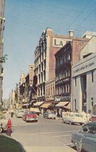 Rue St Joseph , Quebec, Canada , 50-60s