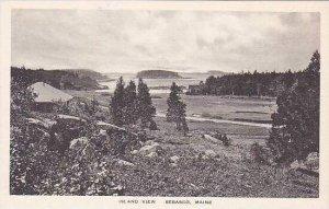 Maine Sebasco Island View Albertype