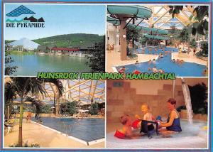 Oberhambach Hunsrueck Ferienpark Hambachtal Schwimmbad Die Pyramide