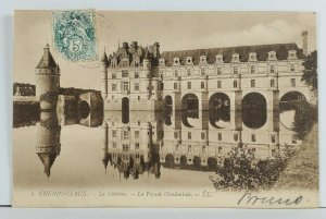 France CHENONCEAUX Le Chateau Postcard Q1