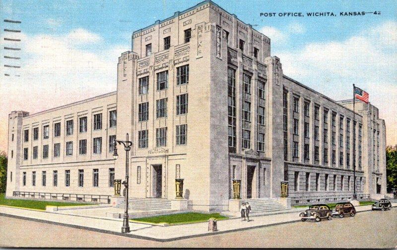 Kansas Wichita Post Office 1959