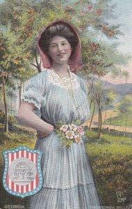 GEORGIA State Girl , 1911 ; TUCK 2669