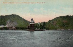 Hudson River , New York , 1910 ; Rockland LIGHTHOUSE