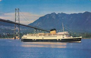 C P R Princess Of Nanaimo Ferry British Columbia Canada