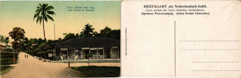 CPA Toko Alberti met weg naar boven te SABANG. INDONESIA (378935)