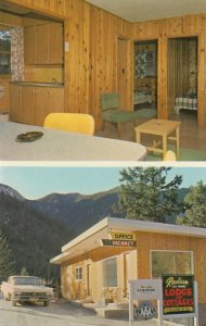 RADIUM HOT SPRINGS , B.C., 50-60s; Radium Hot Springs Lodge & Cottages, 2-views