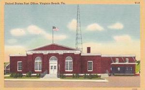 Exterior, United States Post Office, Virginia Beach, Virginia, 30-40s