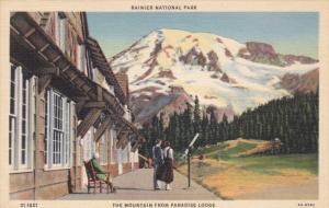 Rainer National Park ; Paradise Lodge , 30-40s