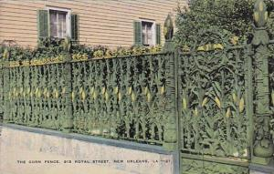 The Corn Fence 915 Royal Street New Orleans Louisiana