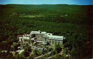 Pennsylvania Buck Hill Falls The Inn Aerial View
