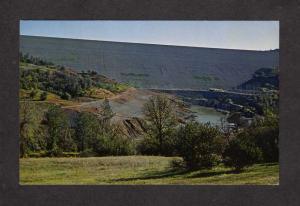 CA Lake Oroveville Dam California Postcard