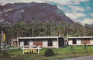 Exterior View, The Green Acres Motel, TransCanada Highway, Canmore, Alberta, ...