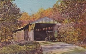 Adams Mill Covered Bridge Carroll County Indiana
